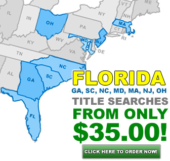 Order your Title Search